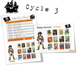 Rallye lecture l'île aux pirates