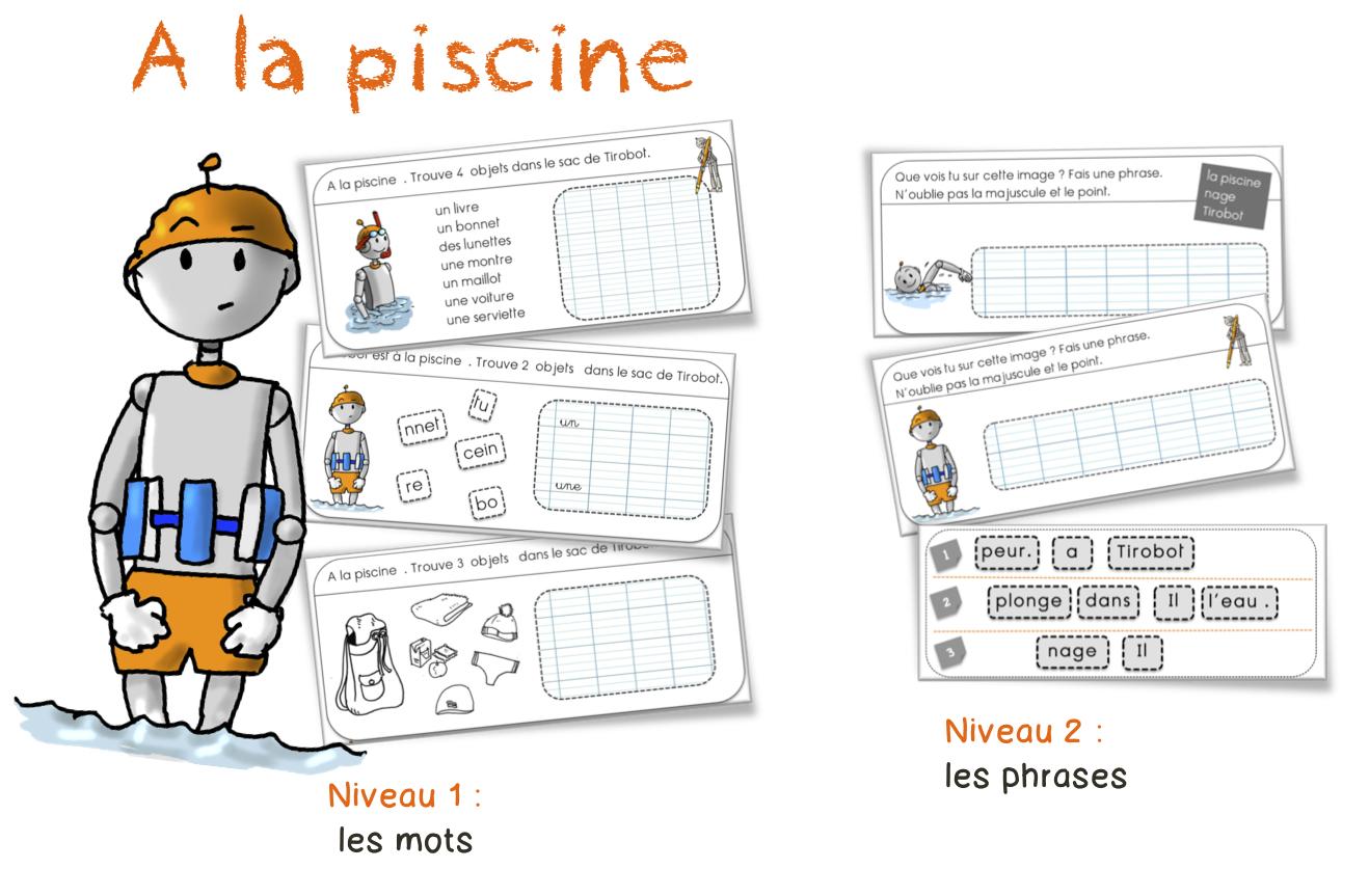 Préférence Piscine | Bout de Gomme EY78