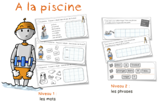 Production d'écrits : la piscine et la mer