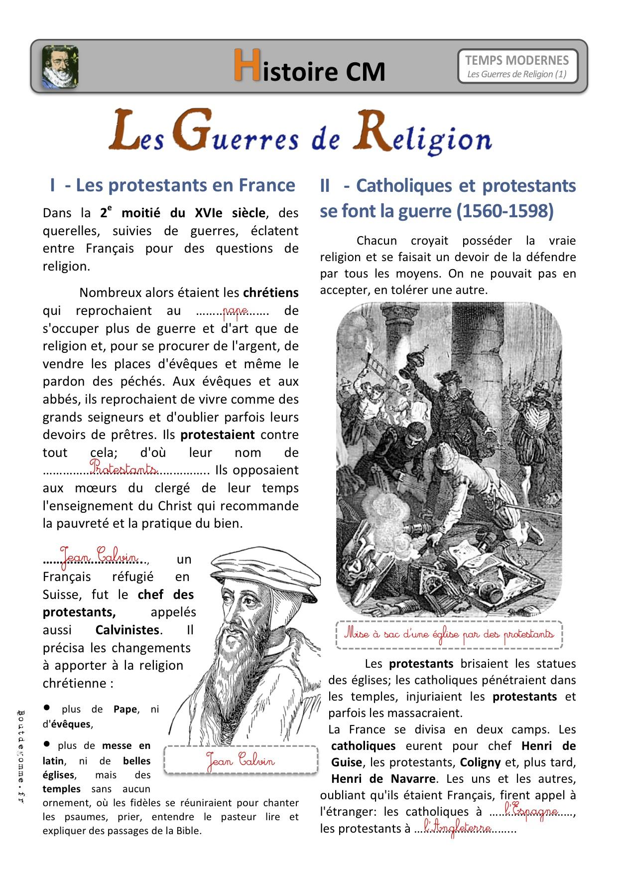 première guerre de religion