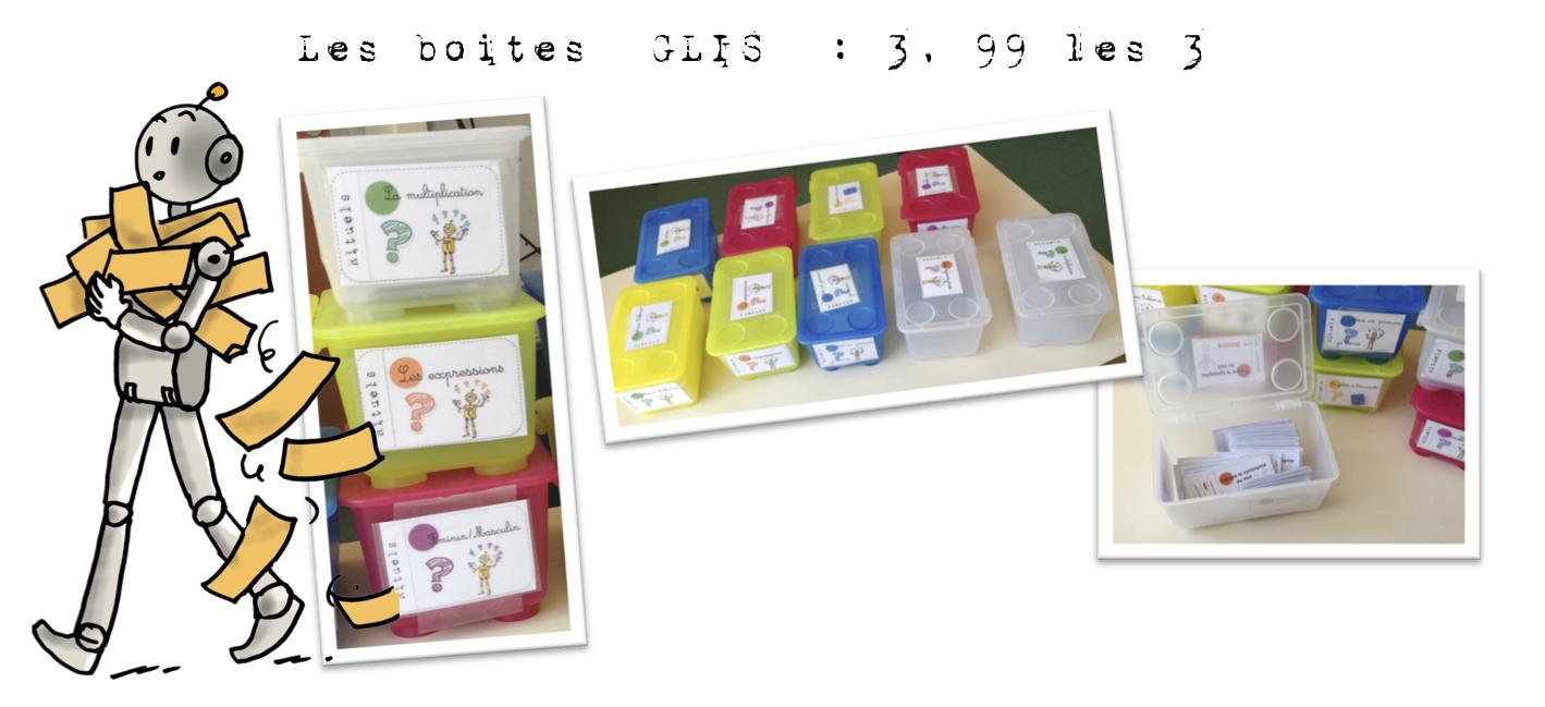 Voilà encore des idées de rangements , avec les boites GLIS d\u0027IKEA .