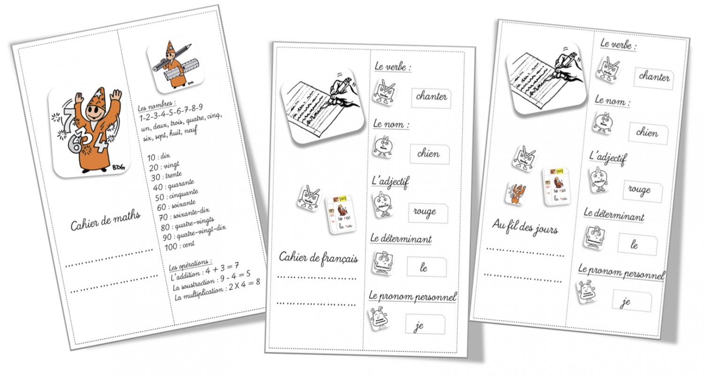 Bien-aimé Illustration Pour Cahier De Francais JJ88 | Jornalagora DK55
