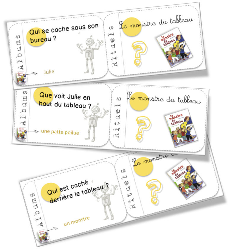 Cartes Albums Le Monstre Du Tableau Bout De Gomme