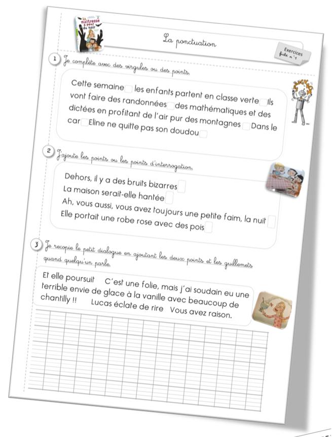 Exercices Grammaire CE1 | Bout de Gomme | Page 3