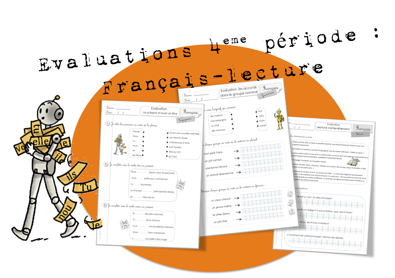Ce1 Evaluations Periode 4 Bout De Gomme