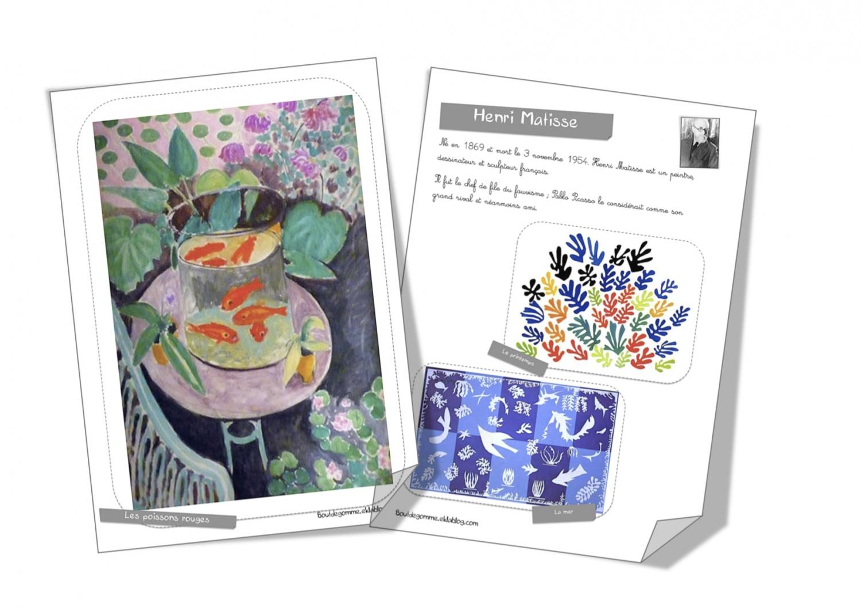 Fiche Artiste Henri Matisse Bout De Gomme