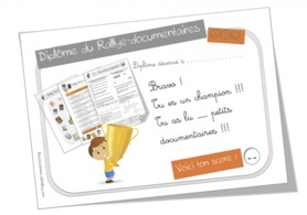 Diplomes pour les rallyes