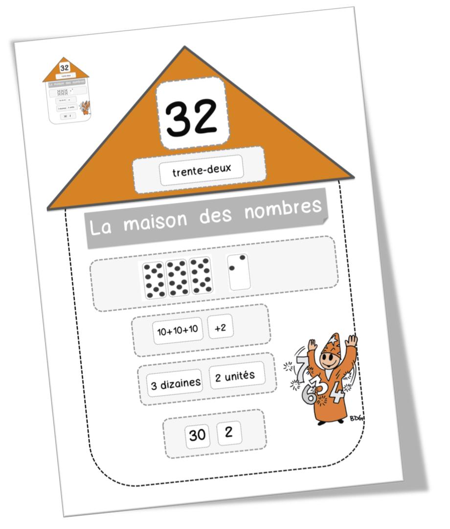 CE1: Maths: jeu de numération de 1 à 999   Bout de Gomme