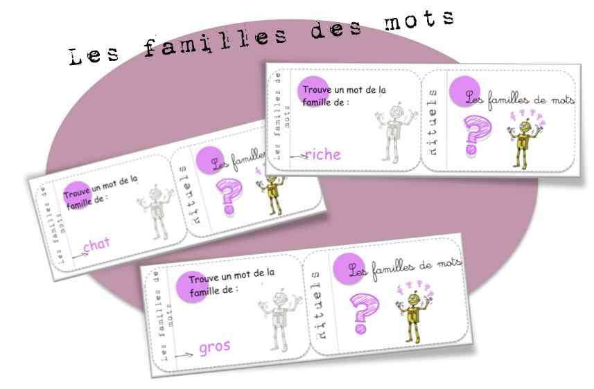 Vocabulaire bout de gomme - Mot de la meme famille que fleur ...
