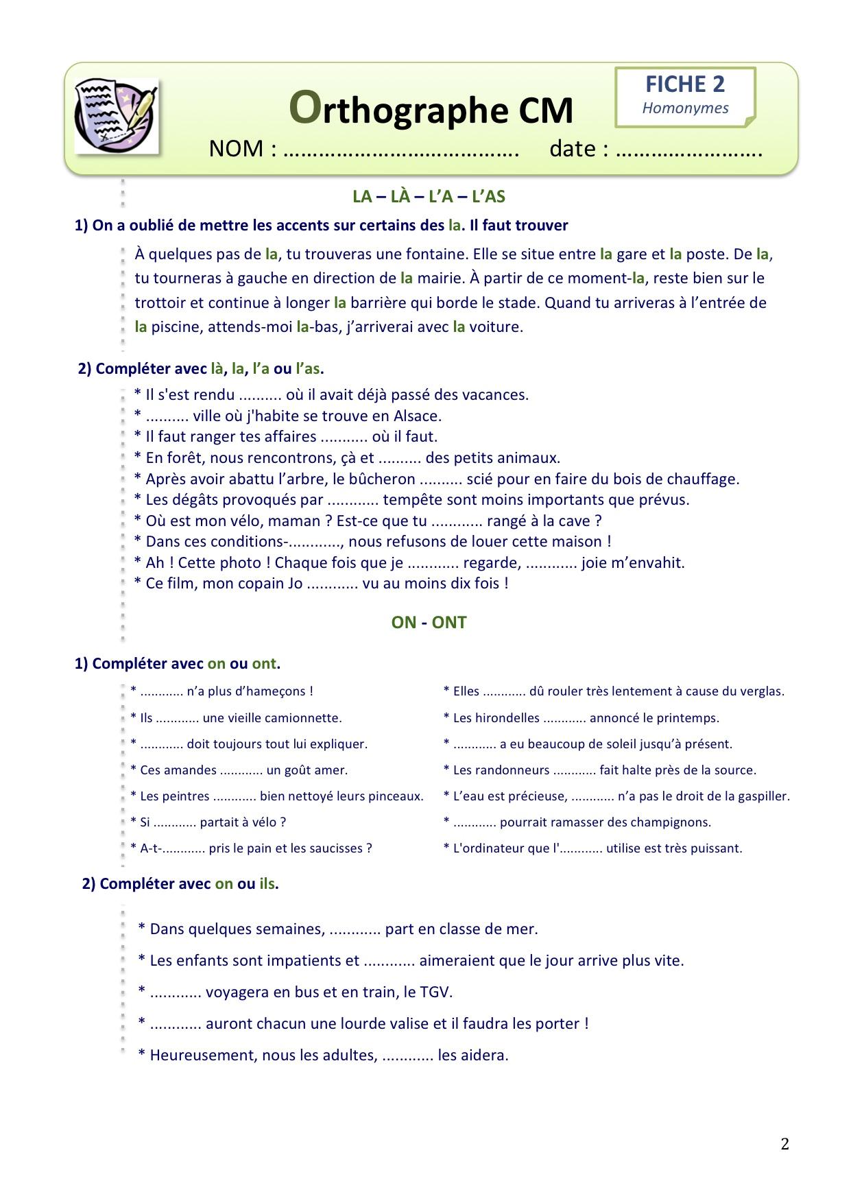 exercice dyslexie gratuit a imprimer