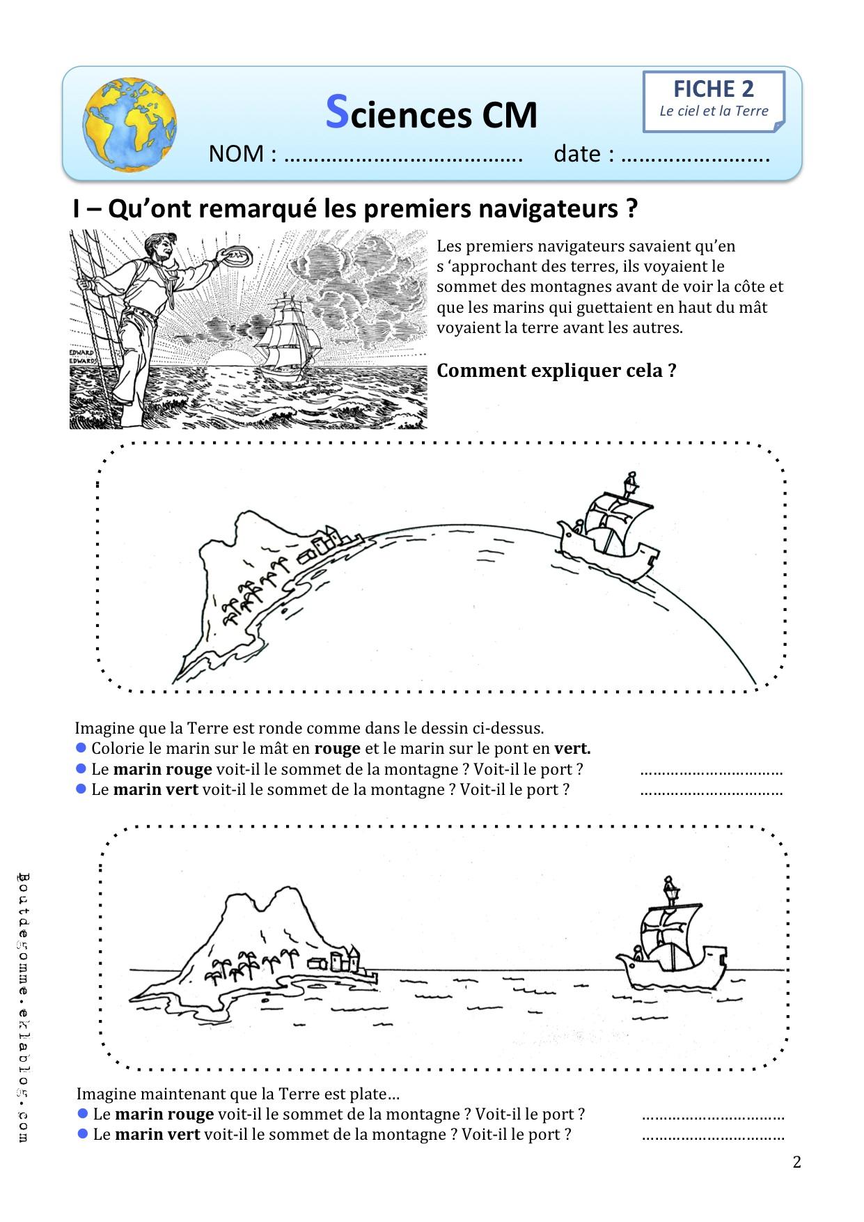Calendrier Ce1 Exercices.Sciences Le Calendrier Cm Bout De Gomme