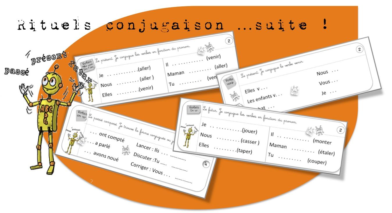 Lecons Conjugaison Ce1 Bout De Gomme