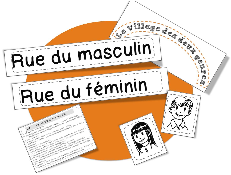 CE1: Rseeg: masculin et féminin   Bout de Gomme