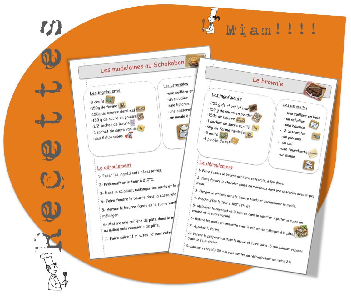 Sehr Davaus.net = Modele Fiche Recette Cuisine Word ~ Avec des idées  HM52