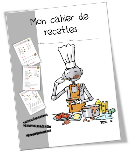 Recettes De Cuisine Pour La Classe Bout De Gomme - Creer un livre de recette de cuisine