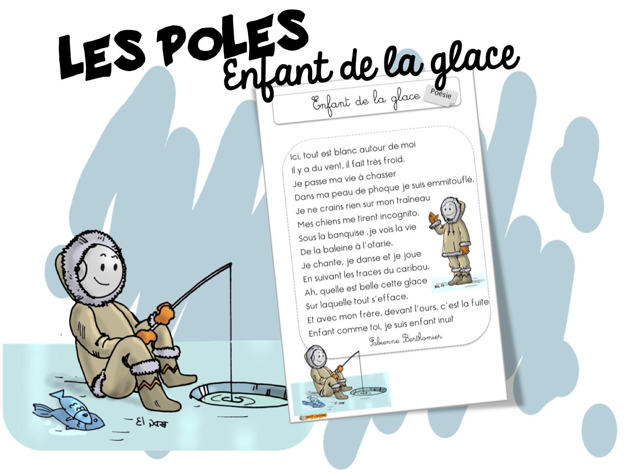 Poésie Sur Les Pôles Enfant De La Glace Bout De Gomme