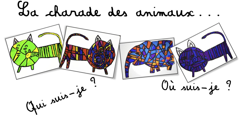 Exceptionnel Arts-plastiques : la charade des animaux   Bout de Gomme MD93