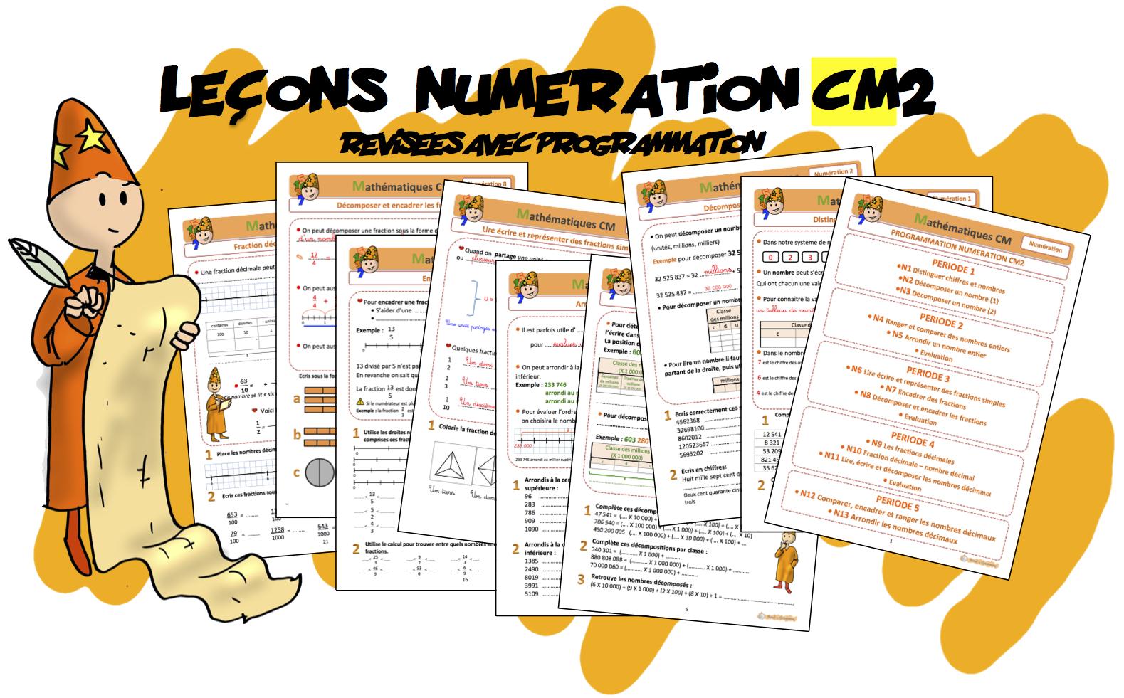 Leçons Numération CM2 | Bout de Gomme