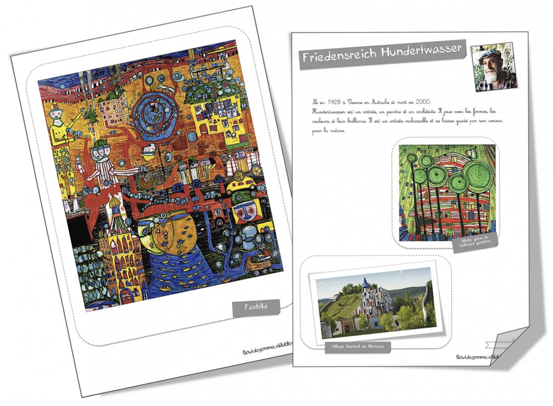 Fiches Artistes Friedensreich Hundertwasser