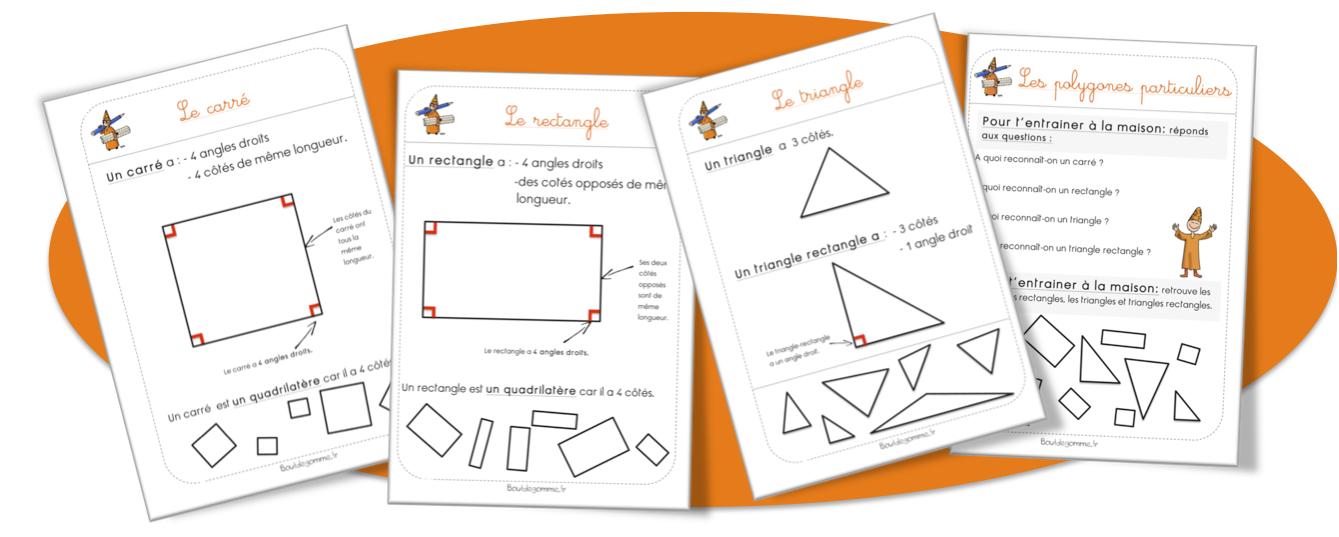 Célèbre triangle rectangle | Bout de Gomme QX24