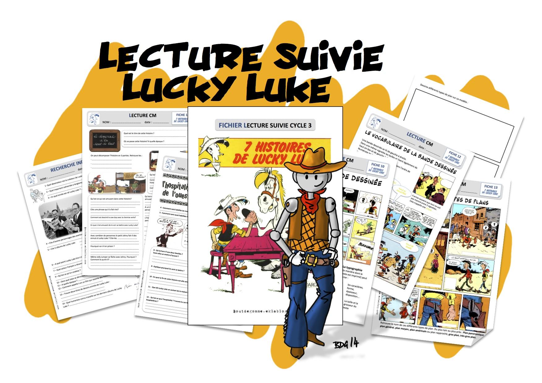 Bien-aimé Lecture Suivie Cycle III : Lucky Luke | Bout de Gomme TX19