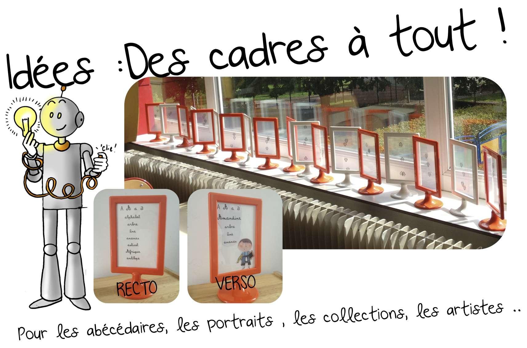 #A0412B Idées: Cadres Ikéa Pour Abécédaires Portraits Artistes  5711 idée décoration noel ce1 1713x1133 px @ aertt.com