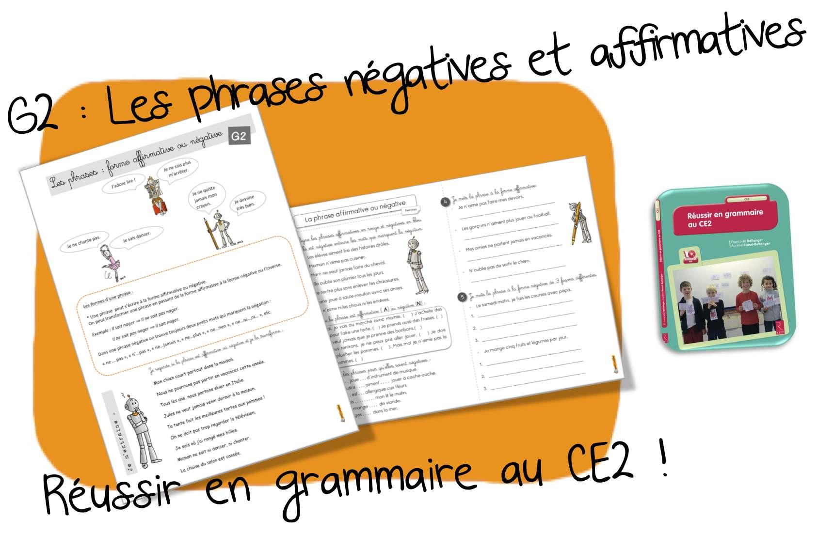 Grammaire conjugaison ce2 bout de gomme page 2 - Grammaire ce1 a imprimer ...