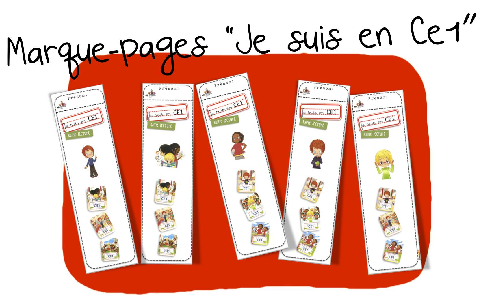 Sehr Marque page | Bout de Gomme YE09