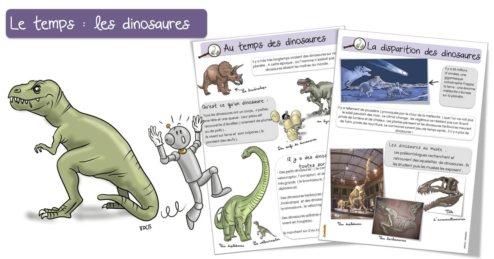 Les Dinosaures Et La Disparition Des Dinosaures Bout De Gomme