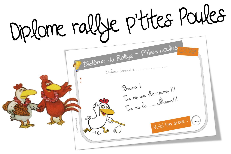 Sanleane rallye p'tites poules