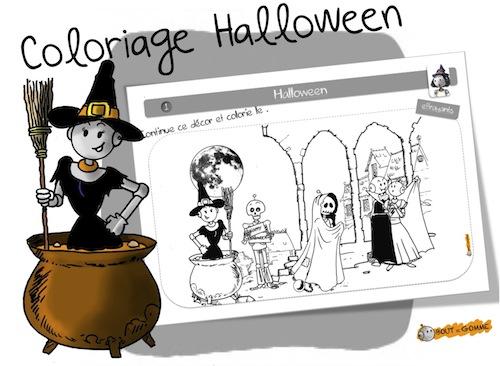 Coloriage D Halloween Bout De Gomme