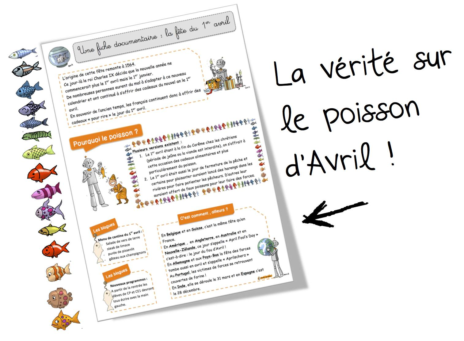 Coloriage Avril Bout De Gomme.Le 1er Avril Coloriages Production D Ecrits Poesie Art