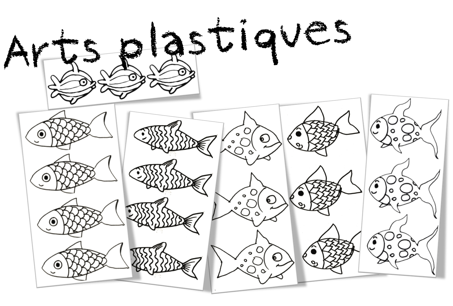 Le 1er avril coloriages production d crits po sie art plastiques bout de gomme - Poisson d avril dessin ...