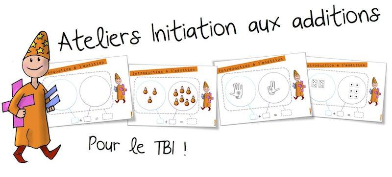 Ateliers Initiation Aux Additions Bout De Gomme