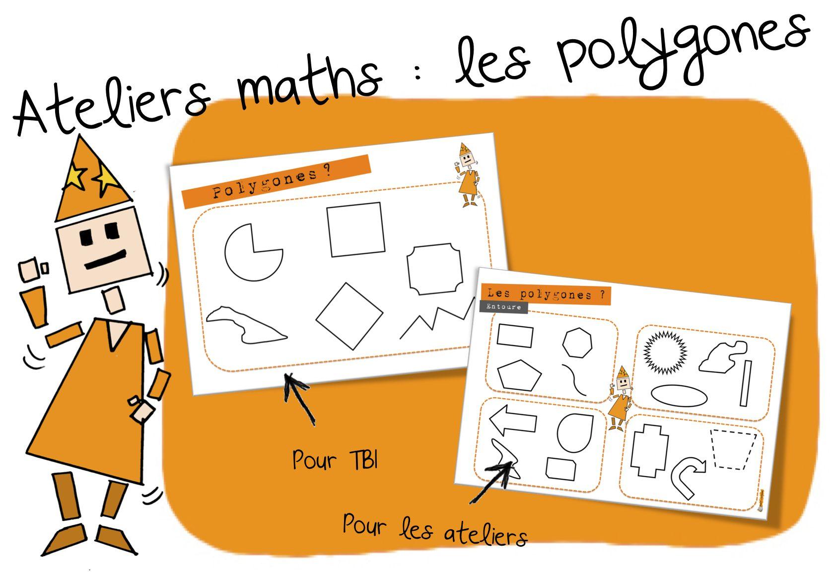 Ateliers Maths Les Polygones Bout De Gomme