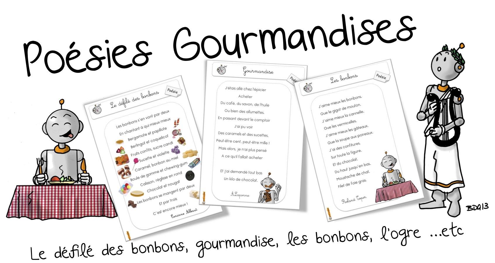 Poésies Gourmandises Bout De Gomme