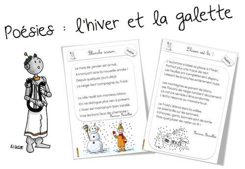 Poésies Sur Lhiver Bout De Gomme