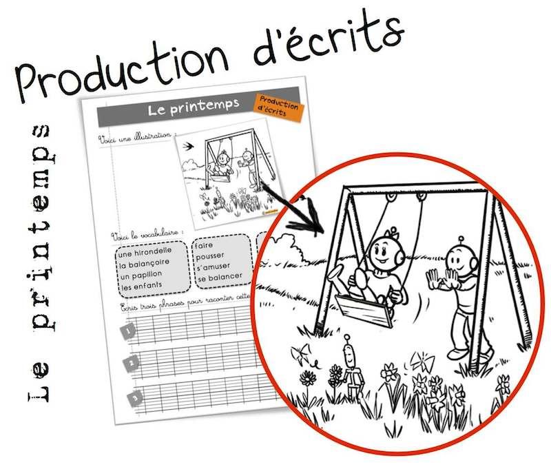 Production D'écrits BDG : Le Printemps
