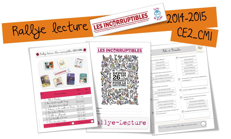 Rallye Lecture Les Incorruptibles 2014 Ce2 Et Cm1 Bout De