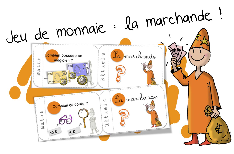 Jeu De La Monnaie Cartes Rituels Marchande