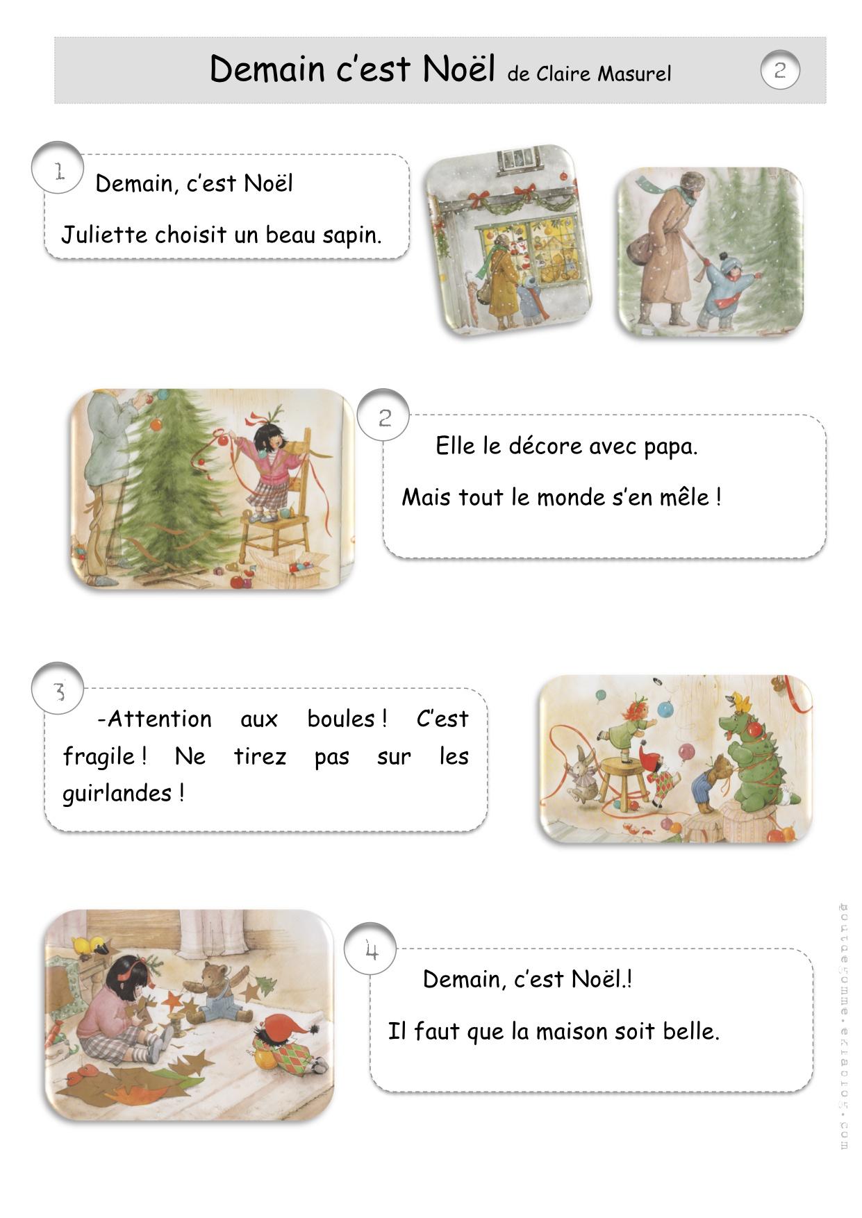 #965F35 Noël: Lecture Bricolage Recette Anglais… Bout De Gomme 5359 décorations de noel ce1 1241x1754 px @ aertt.com