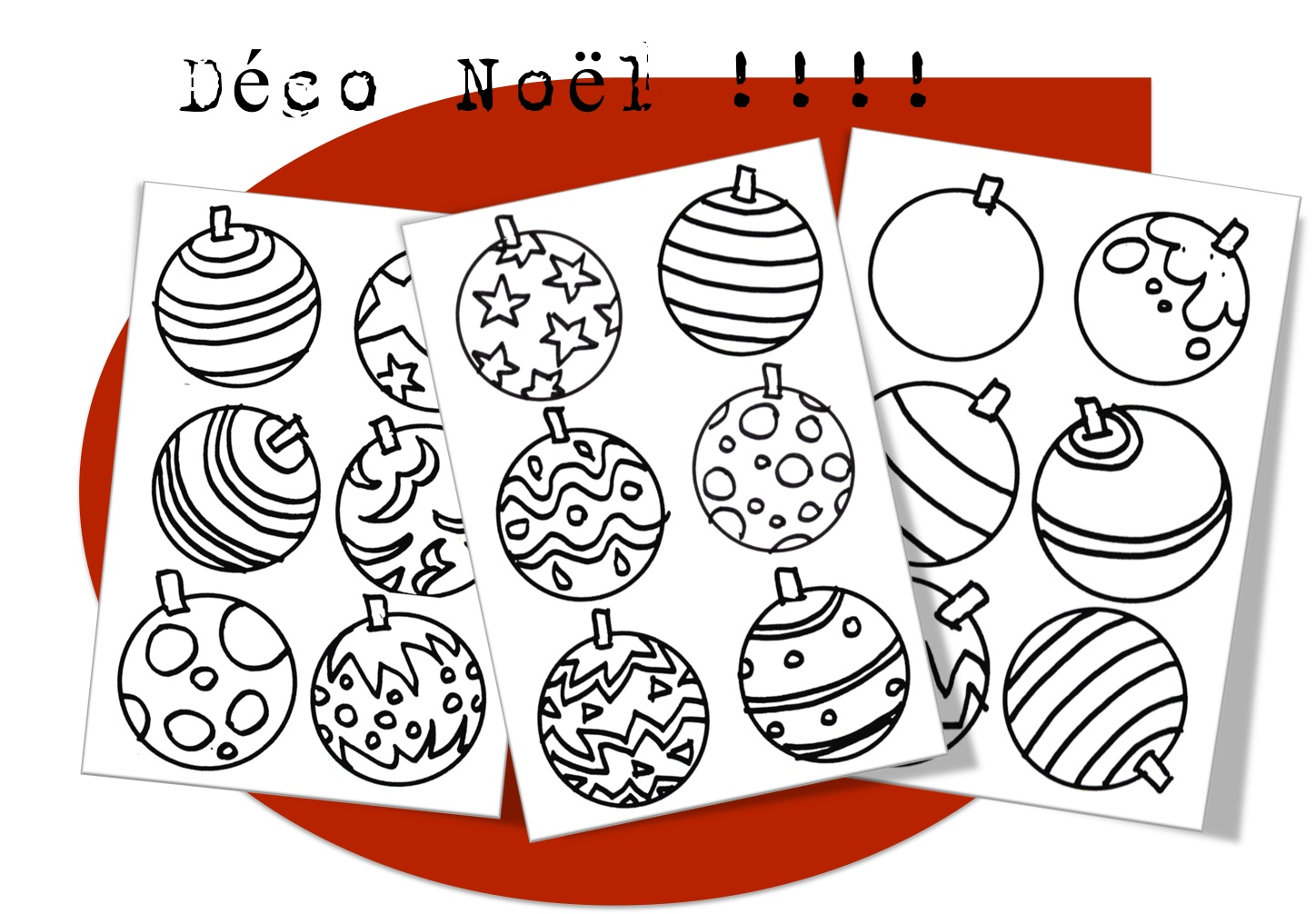 Coloriages De Noel Bout De Gomme