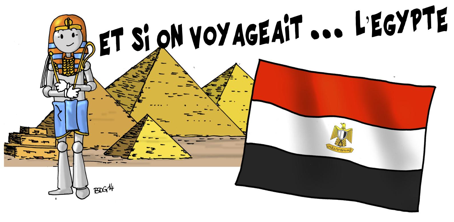 Célèbre Egypte | Bout de Gomme DG02