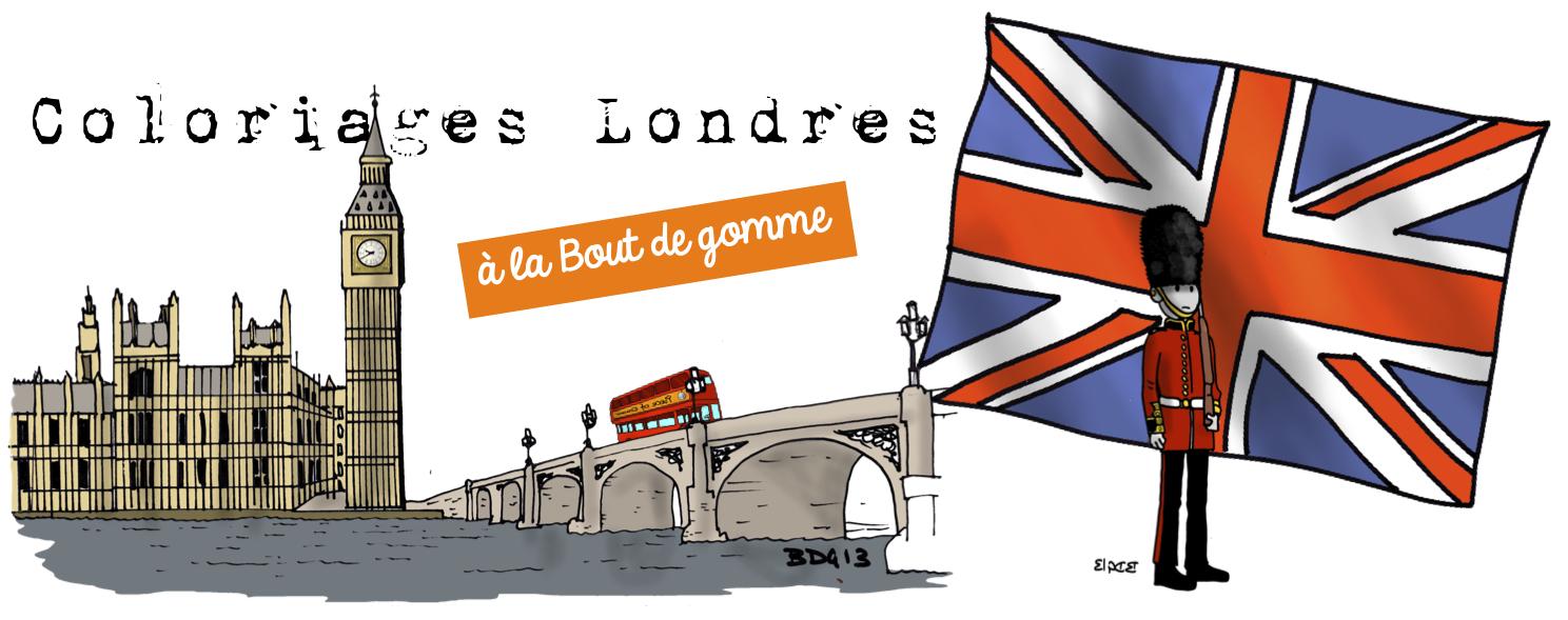 Coloriages Londres A La Bout De Gomme Bout De Gomme