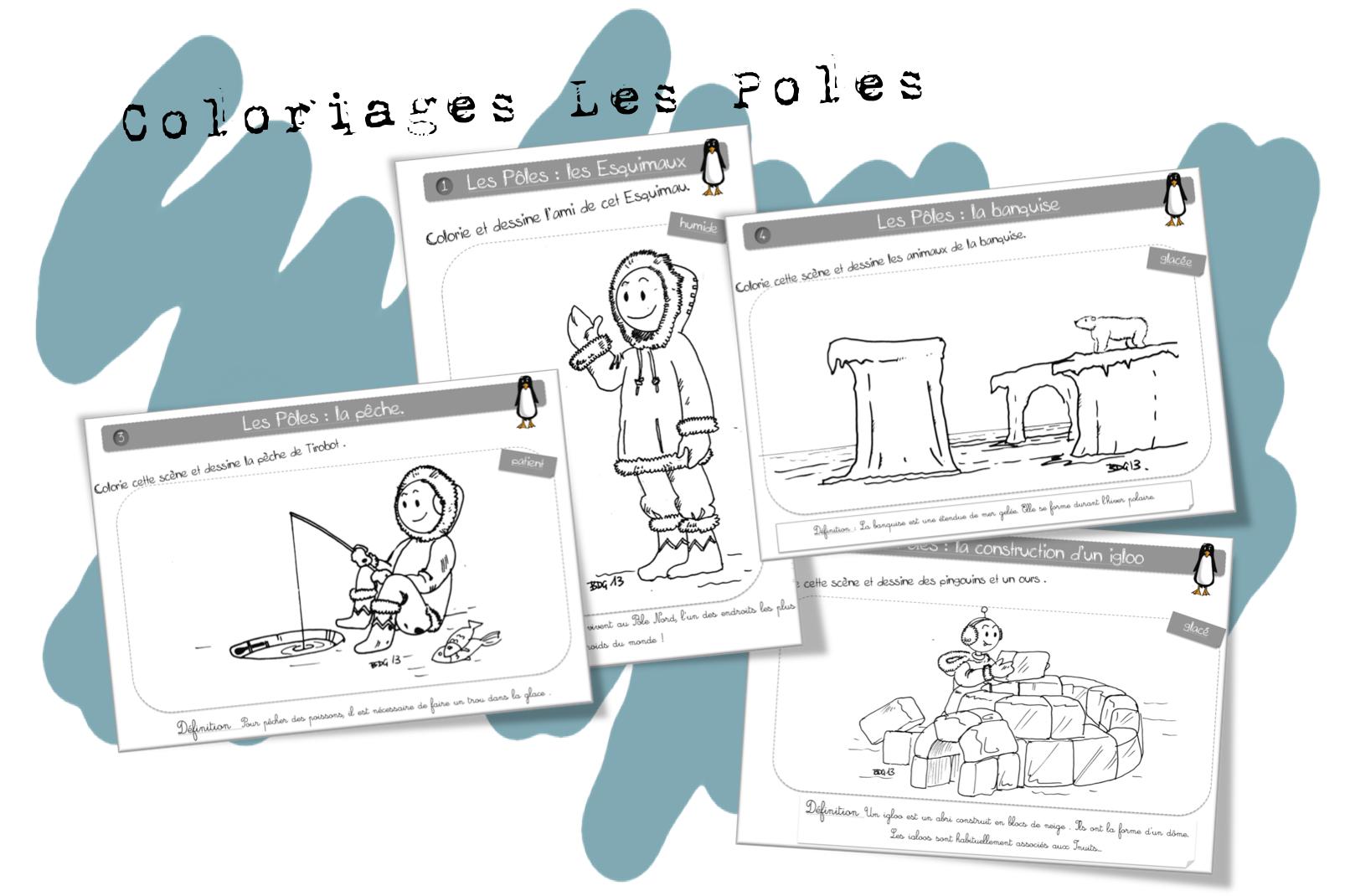 Coloriages Autour Du Monde Bout De Gomme Page 2