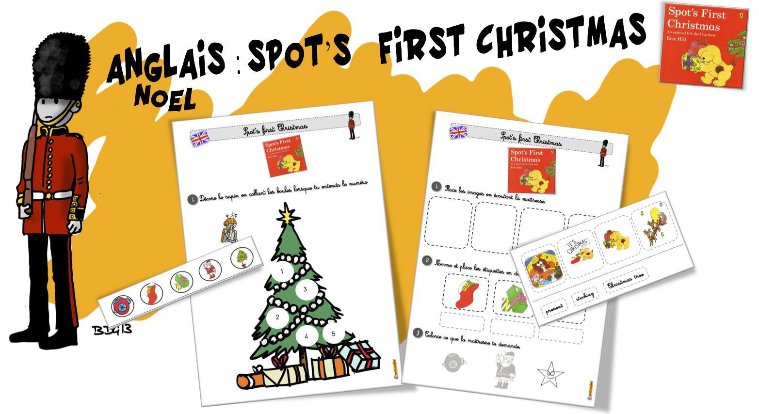 Bien-aimé Anglais : Spot's first Chrismas | Bout de Gomme ZB06