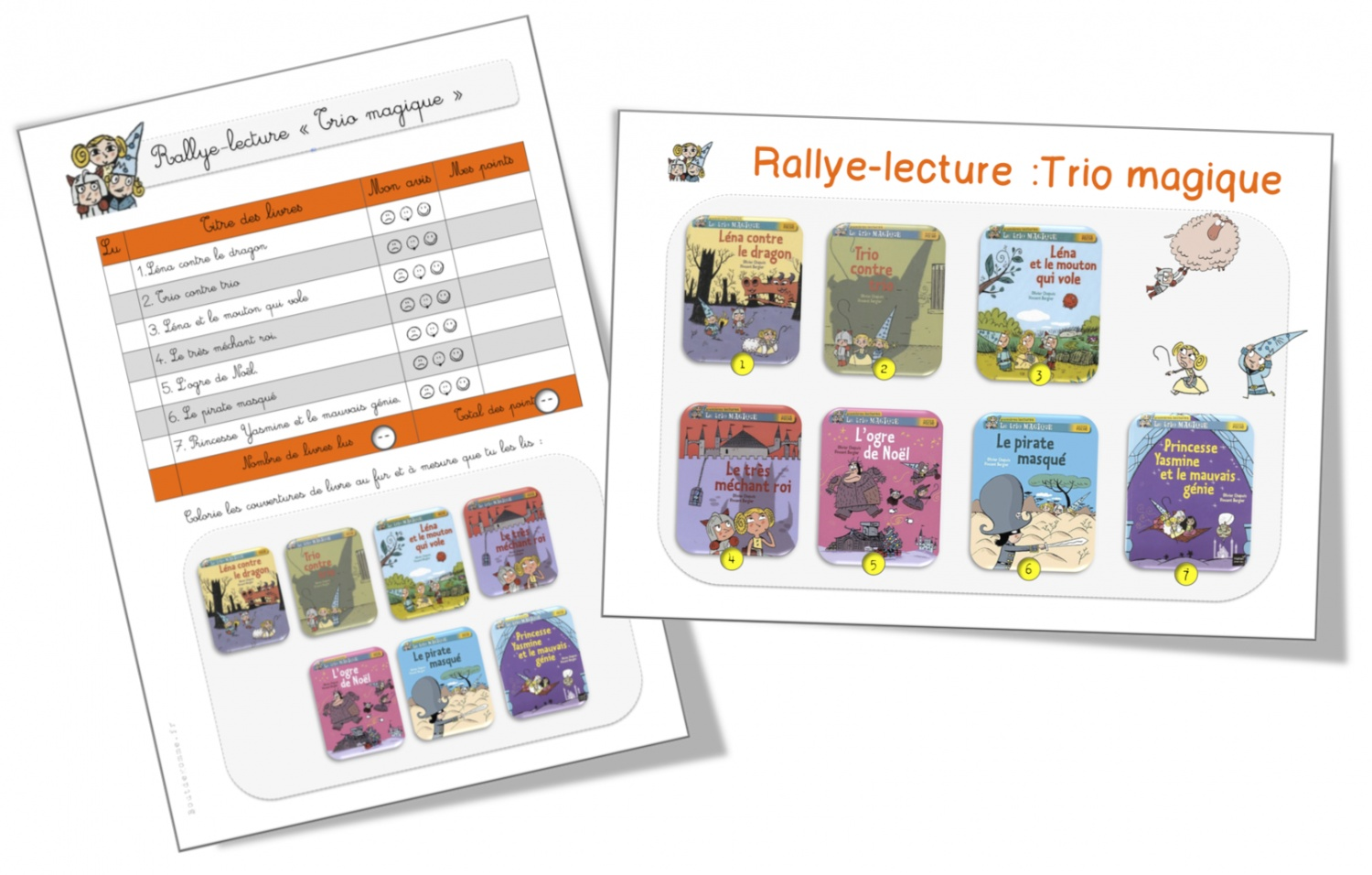 Rallye lecture cp