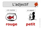 L'adjectif : affichage collectif Rseeg