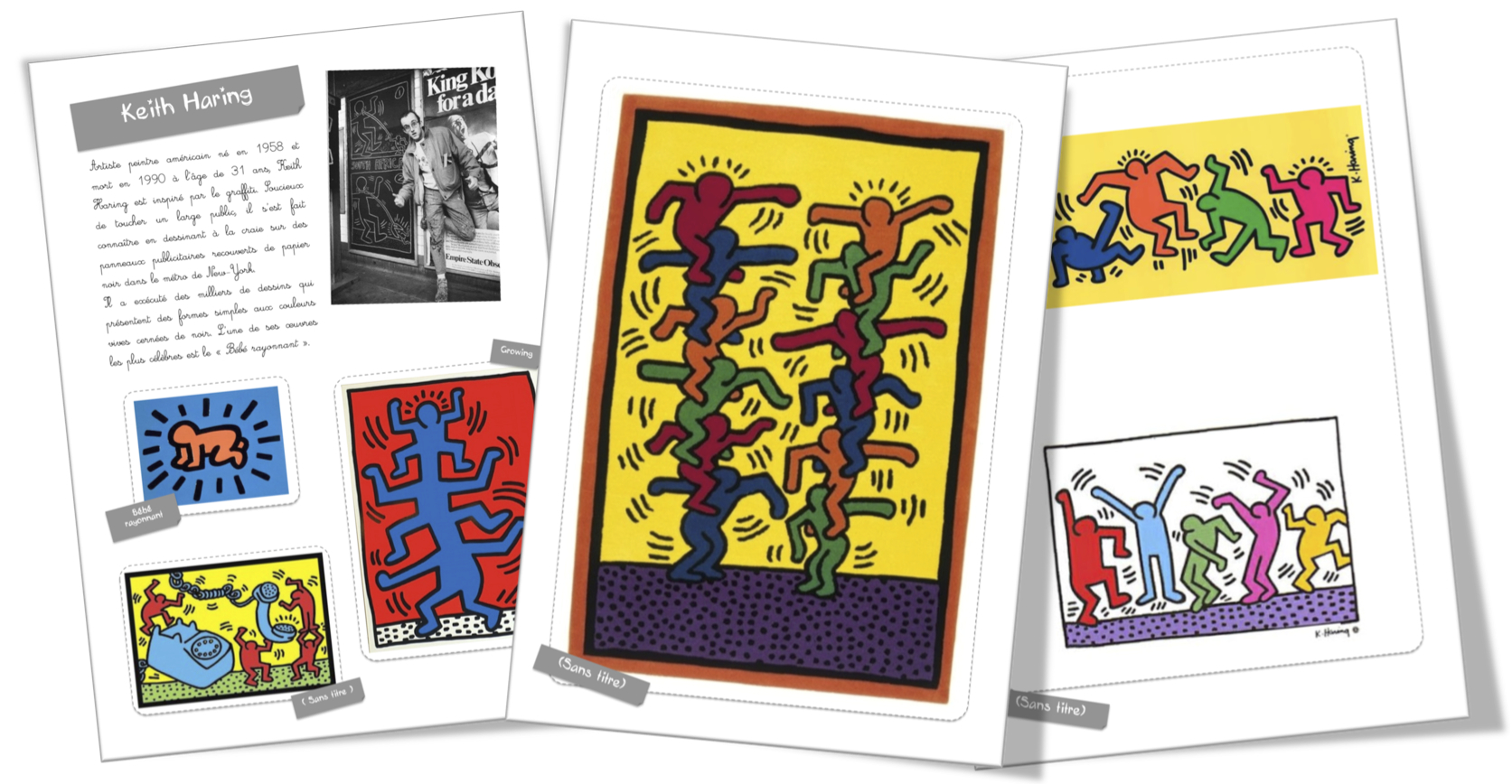 Top Fiche artiste : Keith Haring | Bout de Gomme CO99