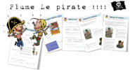Lecture suivie : Plume Le Pirate